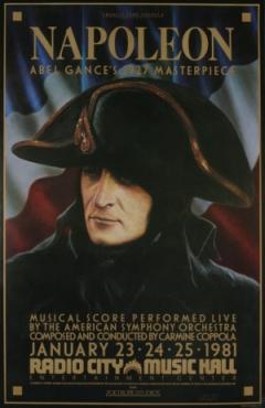 הפוסטר של נפוליאון בשחזור של קופולה