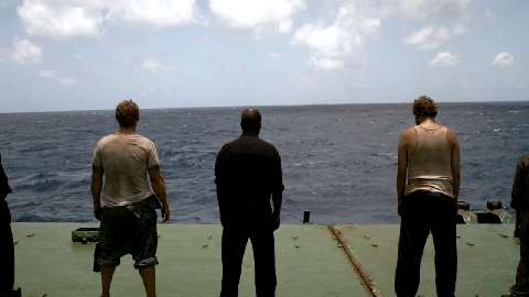 חטיפה בלב ים